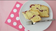 Pink Pound Cake Recipe for Mother's Day Brunch