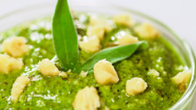 Walnut Sage Pesto