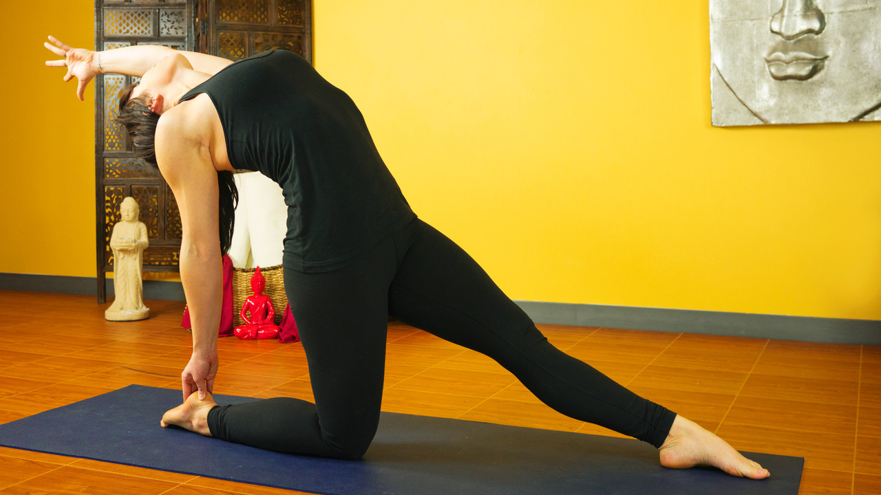 Moving Beyond Wheel Pose Yoga Videos Grokker
