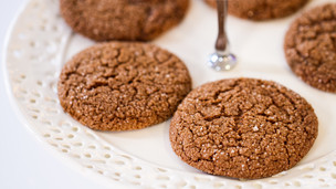 Thumbnail image for Ginger Snap Cookies