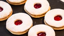 Almond Linzer Cookie