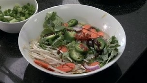 How to Make Vegetable Pho : Asian Soup Recipes