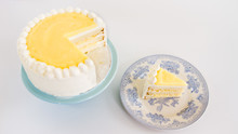 Light Lemon Layer Cake