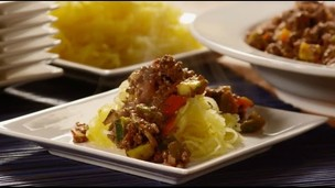 Thumbnail image for Paleo Recipes - How to Make Spaghetti Squash with Meat Sauce