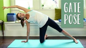 Thumbnail image for Gate Pose (Parighasana) - Foundations of Yoga