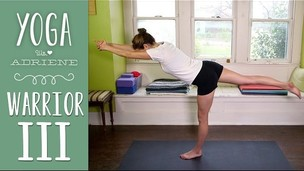 Thumbnail image for Warrior III - Foundations of Yoga