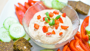 Thumbnail image for No Bean Hummus
