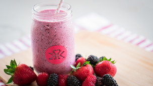 Thumbnail image for Berry Blast Protein Smoothie