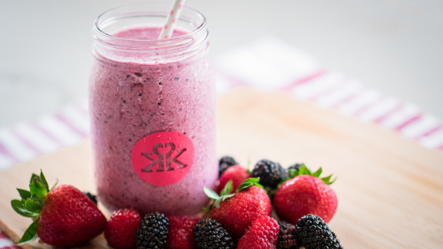 Berry Blast Protein Smoothie