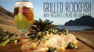 Grilled Rockfish with Lemon