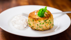 Thumbnail image for Smoked Trout Fishcake