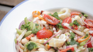 Thumbnail image for Squid & Navy Bean Salad