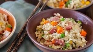 Thumbnail image for Paleo Cauliflower Fried Rice Recipe
