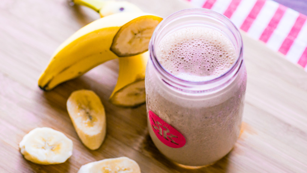 Chocolate Almond Butter Post-Workout Protein Smoothie - Week 3