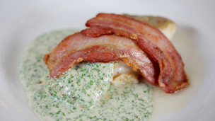 Cod with Bacon & Parsley