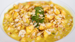 Thumbnail image for Saffron Curry Prawns