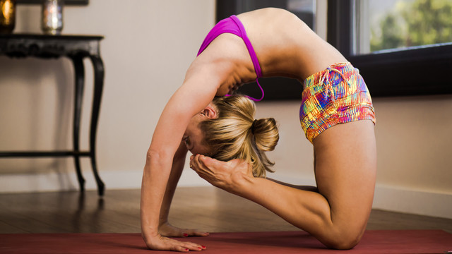 Kapotasana Backbend