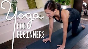 Thumbnail image for Yoga For Complete Beginners - 20 Minute Home Yoga Workout!
