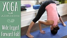 Standing Wide-Legged Forward Fold  |  Prasarita Padottanasana |  Yoga With Adriene