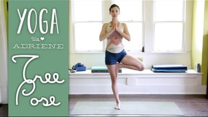 Thumbnail image for Tree Pose - Vrksasana - Yoga With Adriene