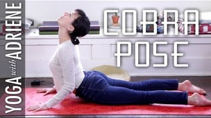 Thumbnail image for Cobra Pose - Yoga With Adriene