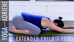 Thumbnail image for Extended Child's Pose - Yoga With Adriene