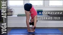 Forward Fold Yoga Pose - Yoga With Adriene