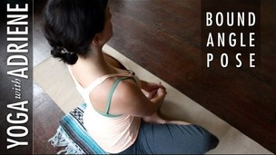 Thumbnail image for Bound Angle  Pose - Yoga With Adriene