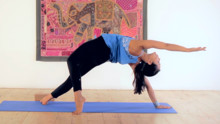 intermediate  advanced backbend vinyasa flow  yoga