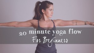 Thumbnail image for 20 Min Yoga Flow for Beginners