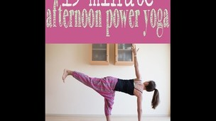 Thumbnail image for 15 minute afternoon power yoga flow