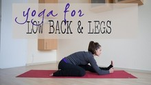 15 Minute Yoga for the Low Back & Legs