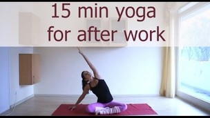 Thumbnail image for 15 minute after work yoga sequence