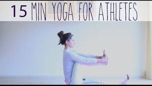 Thumbnail image for 15 minute gentle yoga for athletes