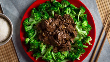Healthy Broccoli Beef