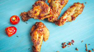 Crispy Cumin Chicken Wings