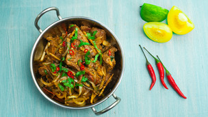 Sizzling Stir Fried Lamb