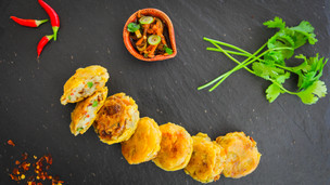 Aloo Tikki Potato Snacks