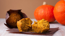 Low Fat Pumpkin Muffins