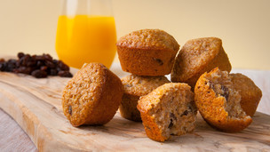 Raisin Bran Mini Muffins