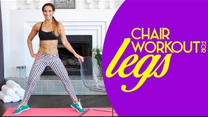 Chair Legs Workout