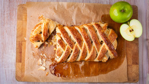 Thumbnail image for Braided Apple Pastry