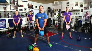 Thumbnail image for 1. Kettlebell Workouts • BEGINNERS WORKOUT