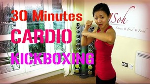 Thumbnail image for 30 Minutes Cardio Kickboxing