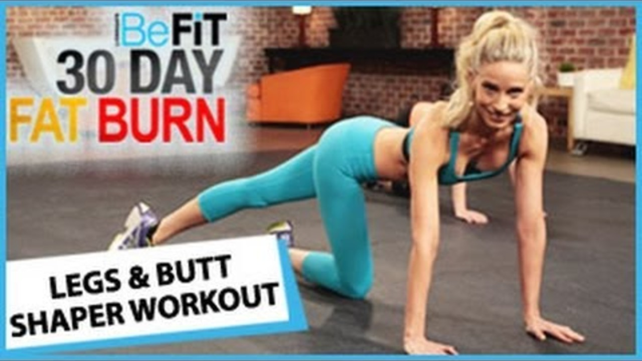 30 Day Fat Burn Legs And Butt Shaper Workout - Fitness -6582