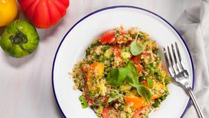 Quinoa Tomato Basil Salad