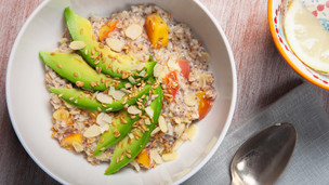 Thumbnail image for Avocado Peach Porridge