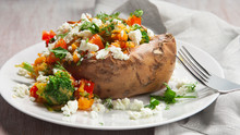 Stuffed Superfood Sweet Potato