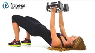 Thumbnail image for Upper Body Superset Workout with Fat Burning Cardio Intervals