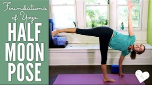 Thumbnail image for Half Moon Pose - Foundations of Yoga